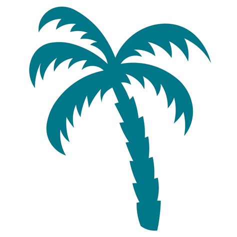 palm tree printable template clipart best