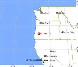 glide oregon or profile population maps real estate