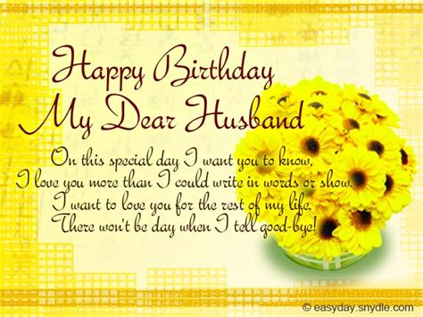 Happy Birthday Wishes To From Husband Birthday Messages For Your Husband Easyday