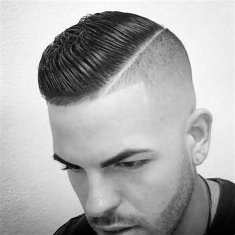 fade to comb over hairstyle comb over fade haircut for men 40 masculine hairstyles