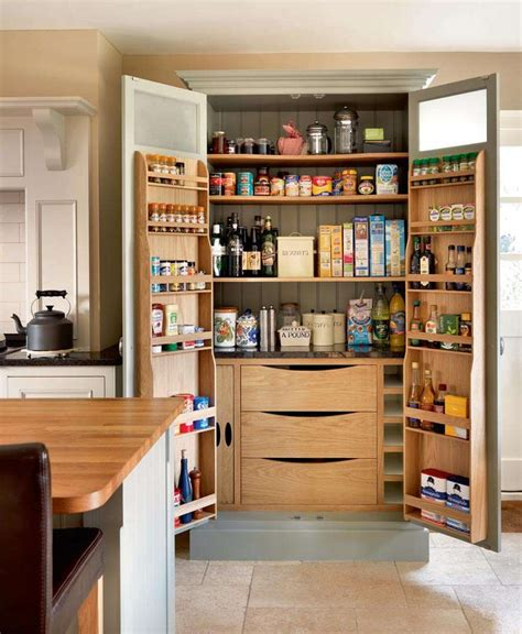 Cabinet Food Pantry Fantastic Great And Amusing Wooden Kitchen Pantry Cabinet