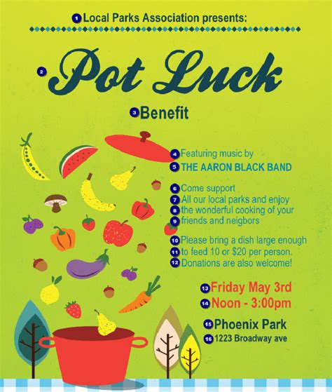 Potluck Flyer Template by Potluck Flyer Template Free Printable Loving Printable