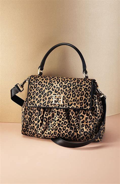 Margaretha Bag From Escada by Escada Miss Margaretha Bag In Leopard Print Calf Pony Hair