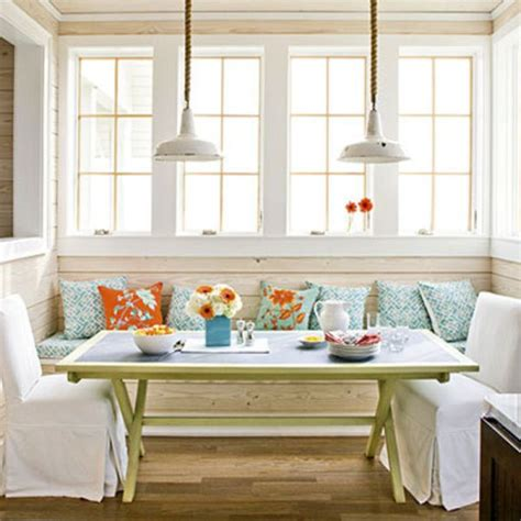 Dining Table For Kitchen Nook 7 Breakfast Nook Decorating Tips