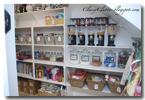 Kitchen Pantry Makeover by Kitchen Pantry Makeover Jars Pantry Makeover And Clutter