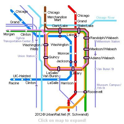 Chicago Subway Map by Quot L Quot Amp Subway Routes Chicago Items Pinterest Chicago