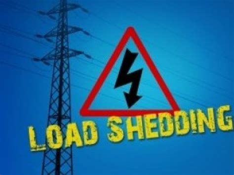 What Is Load Shedding In Power System by High Risk Of Load Shedding This Weekend Transport World Africa