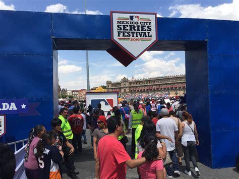 festival mexico city the mlb festival at mexico city s historic zocalo square