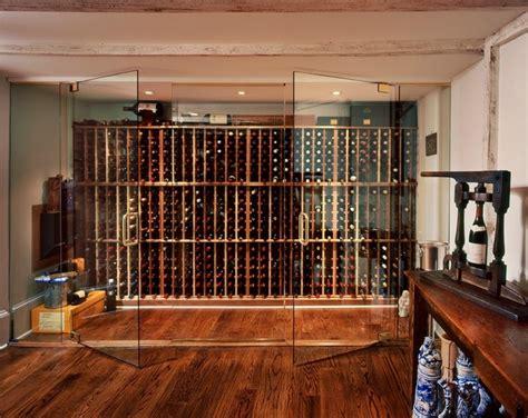 glass wine room doors frameless wine room glass doors