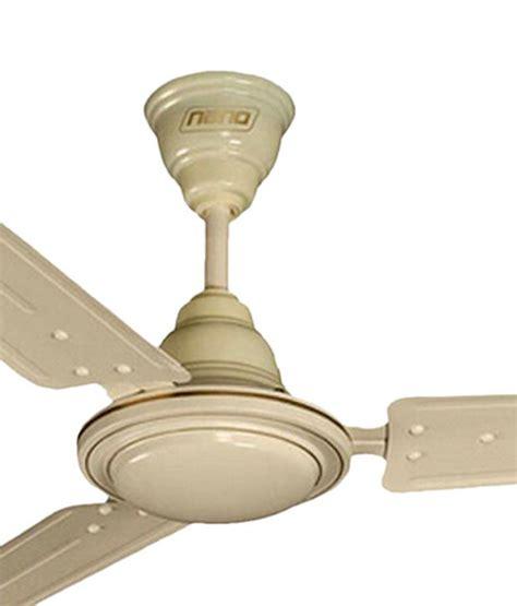 Khaitan Ceiling Fan Price khaitan 48 inch nano ceiling fan price in india buy khaitan 48 inch nano ceiling fan on