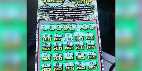 million dollar scratch  ticket sold  barberton