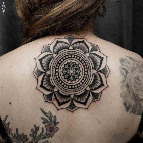 tattoo mandala girl upper back mandala tattoo for girl best tattoo ideas gallery