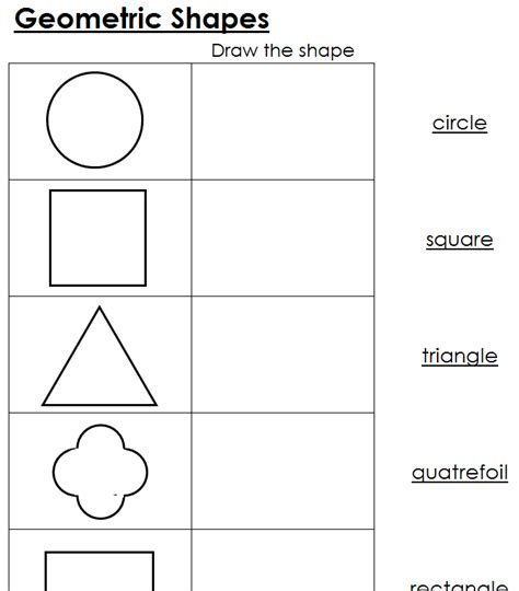 printable montessori geometric shapes geometric shapes worksheets calleveryonedaveday