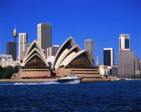 opera house sydney sydney opera house and skyscrapers visa first blog