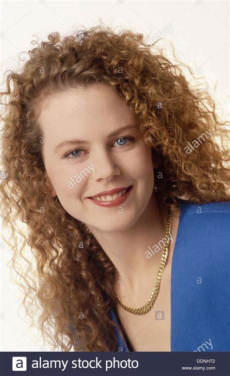 australian actress nicole kidman images nicole kidman australian actress 1988 stock photo