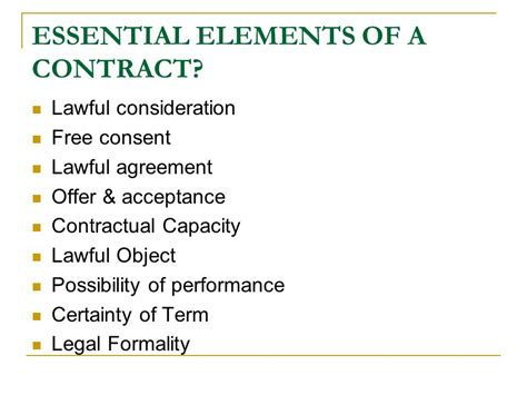 Essential Elements Of Law Elements Of A Criminal
