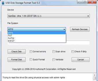 exfat format pros and cons usb disk storage format tool download usbdiskstoragetool exe