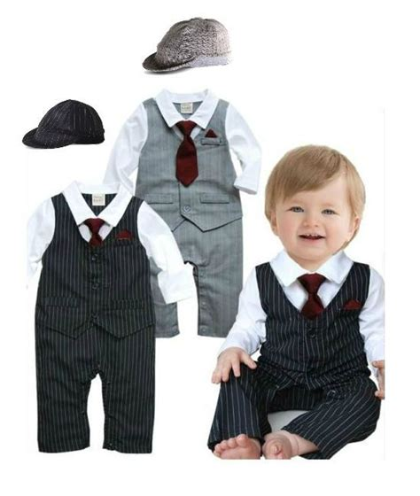 Infant And Child Suits baby boy formal suit tie toddlers wedding christening