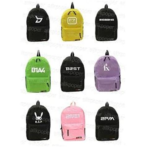 Backpack Logo Exo f x merchandise kpopmerchandiseworld