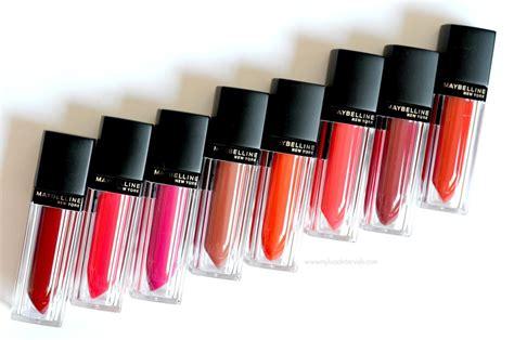 review lipstik maybelline matte liquid lip color