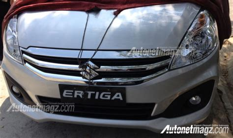Lu Hid Mobil Ertiga ini dia foto jelas new suzuki ertiga facelift 2015