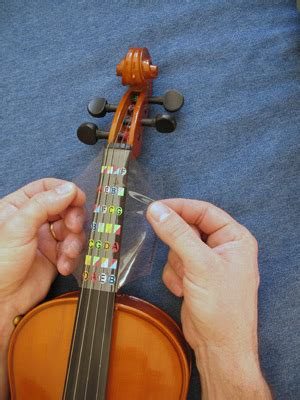 2 Buah 4 4 Biola Fretboard Stiker by Fretless Finger Guides How To Put It On A Violin Fingerboard