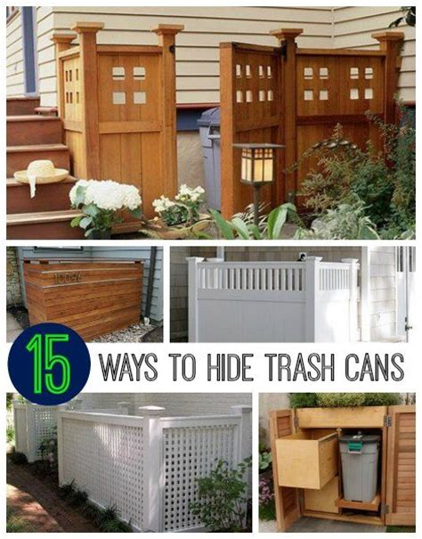 best way to build a house 25 best ideas about hide trash cans on pinterest trash
