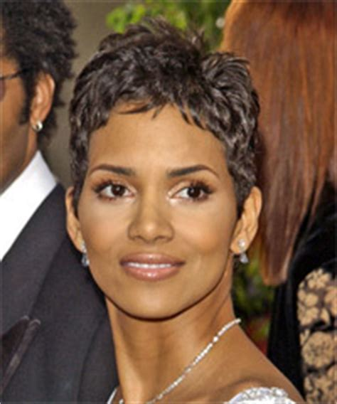 how does halle berry straighten her hair celebrity short hairstyles short hair styles gallery
