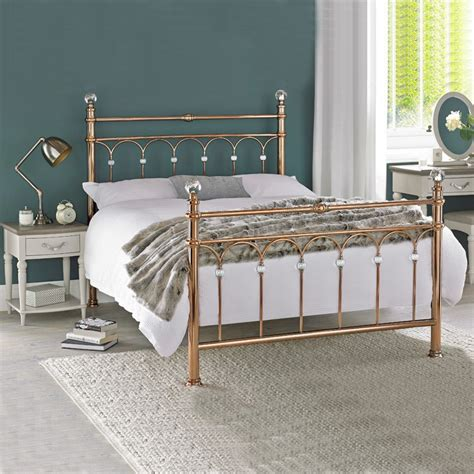 gold frame bed rose gold bed frame uk home design ideas