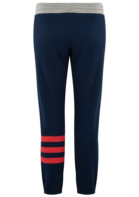 Striped Sweatpants sundry striped sweatpants navy