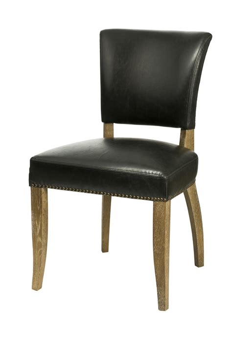 Black Leather Dining Chairs Dining Kitchen Chairs Sl 002 Black Bicast Leather Dining Chair Artefac
