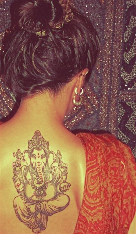 devotees say it with ganesha tattoos kannadiga world