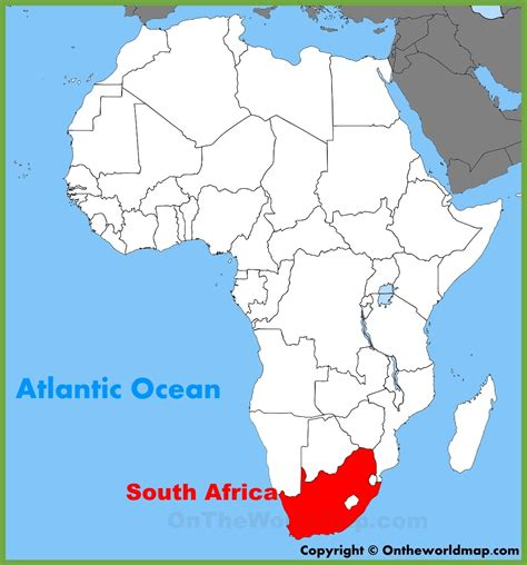Address Finder South Africa South Africa Map Of Africa
