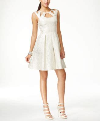 Once A Betsey by Betsey Johnson Cutout Neckline A Line Dress Dresses