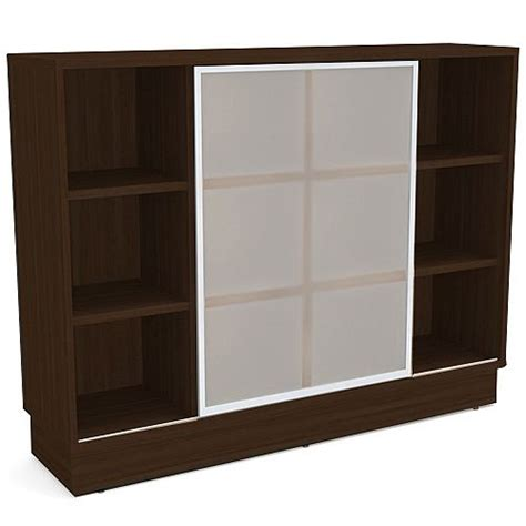 bookcase with frosted glass doors grand medium cube shelf bookcase with sliding frosted