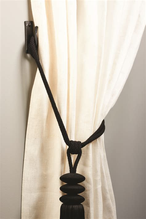 how to tie back curtains with hooks curtain hold backs and tie back hooks made by the forge blog
