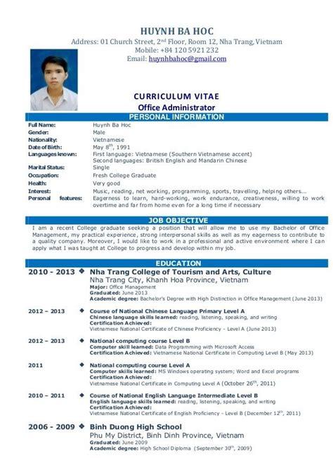 Simple Work Resume by Simple Resume Sle For Resume Sle