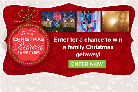 Hallmark Sweepstakes - christmas retreat sweepstakes christmas keepsake week hallmark channel