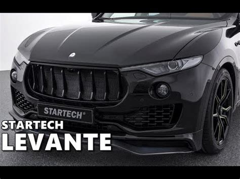 Startech Maserati Levante Blacked Out
