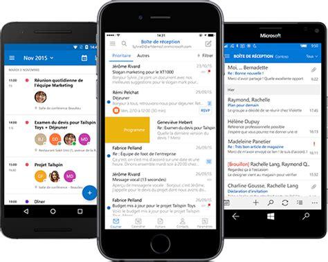 outlook for android mobile retrouvez votre messagerie outlook sur votre appareil mobile