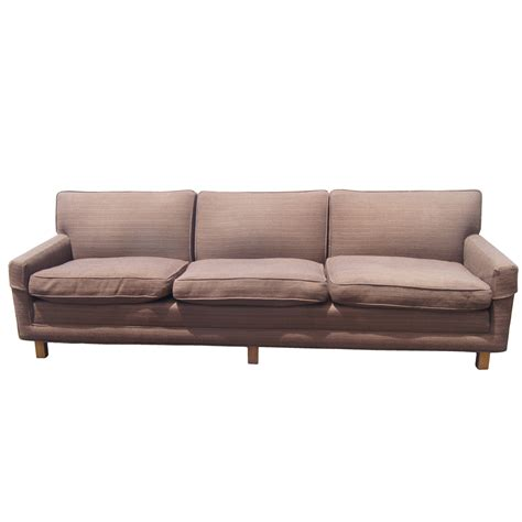 mid century modern sofa with vintage mid century modern down filled sofa ebay