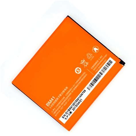 Replacement Battery For Xiaomi Redmi Hongmi 1 1s 2100mah Black xiaomi redmi hongmi 1s bm41 2050mah end 1 11 2018 7 15 pm