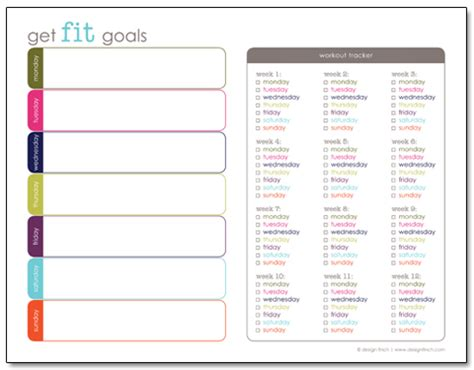 printable exercise organizer the top 5 absolute best fitness and weight loss planners