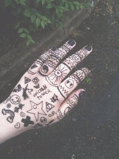 grunge tattoos tumblr grunge doodles