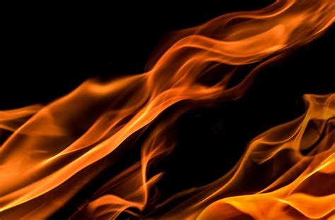 Flames Black Hitam kostenlose foto licht rauch rot flamme feuer