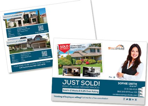 Real Estate Agent Postcard Templates real estate postcards real estate postcards