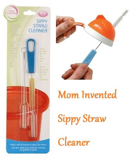 Tokyo1 Straw Brush Sikat Sedotan invented sippy straw cleaner