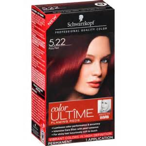 hair color brands at walmart schwarzkopf color ultime flaming reds hair coloring kit 5