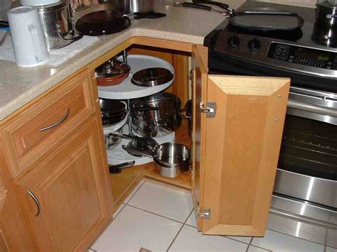 Kitchen Corner Storage Cabinets Lazy Susan For Cabinets Home Furniture Design