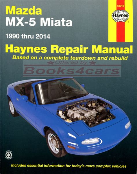 chilton car manuals free download 1990 mazda mx 6 engine control miata shop manual mx5 service repair mazda mx 5 book haynes chilton workshop ebay